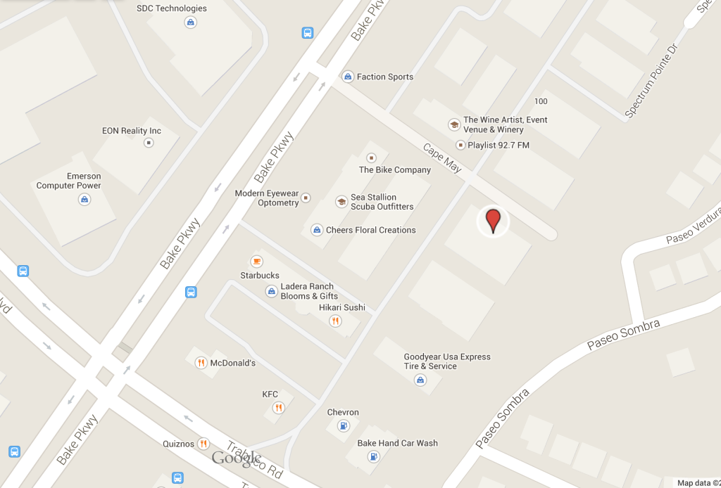 MPH Area Map