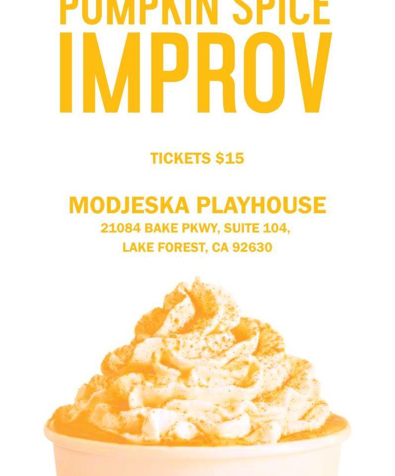 Pumpkin Spice Improv