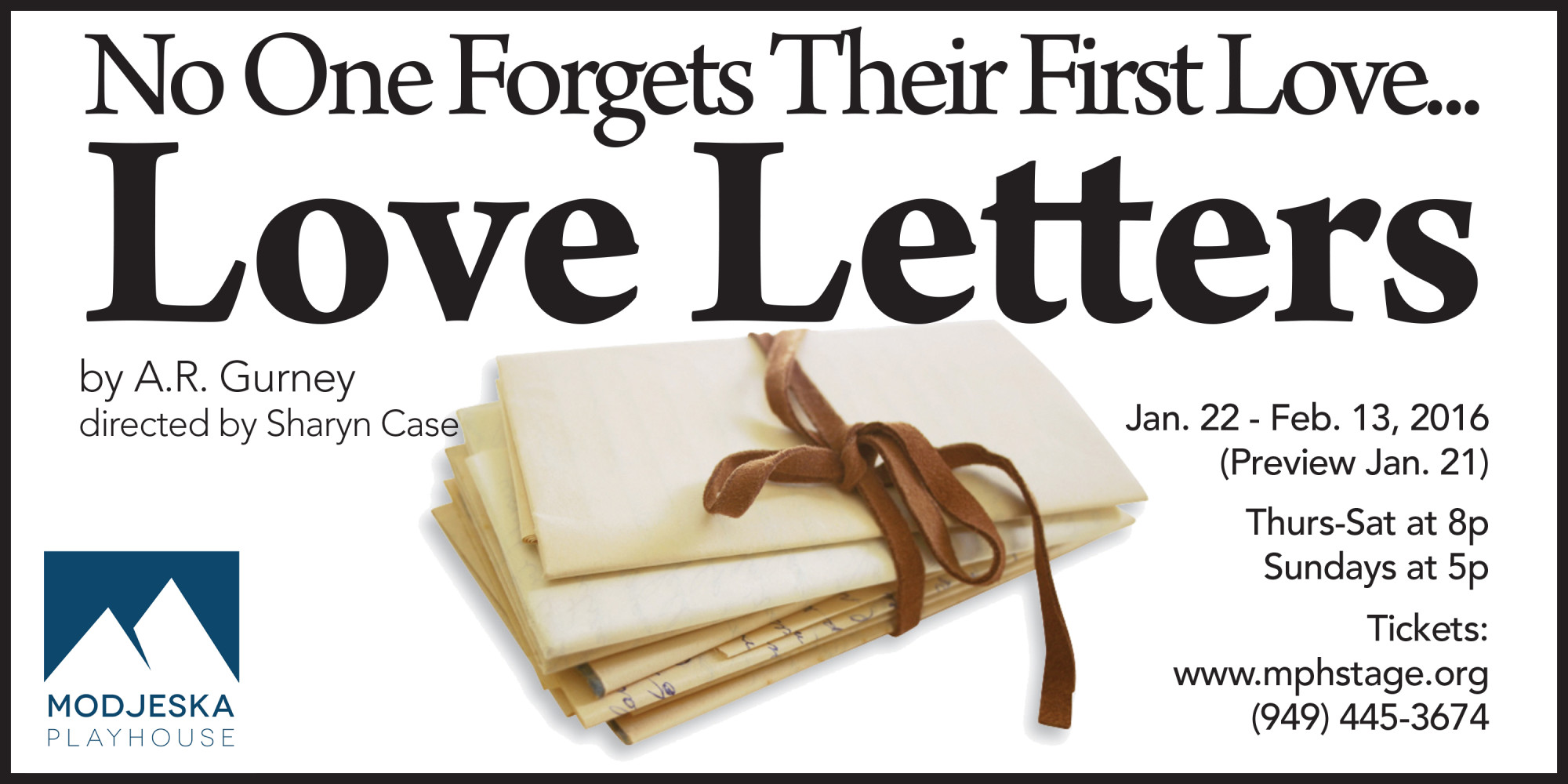 MPH Begins 2016 with Love Letters
